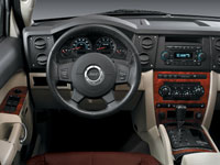 jeep commander steering wheel closer shot